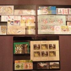 Sellos: LOTE 3 FICHAS SELLOS TEMA EUROPA AÑOS 2008, 2010 Y 2011. Lote 197477913