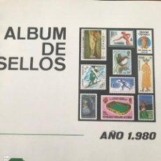 Sellos: EUROPA CEPT AÑO 1980 MONTADO EN HOJAS FILABO VER IMAGENES. Lote 197559577