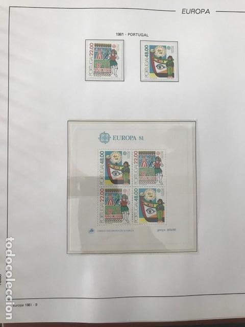 Sellos: Europa CEPT año 1981 montado en hojas Filabo Ver imagenes - Foto 11 - 197559921