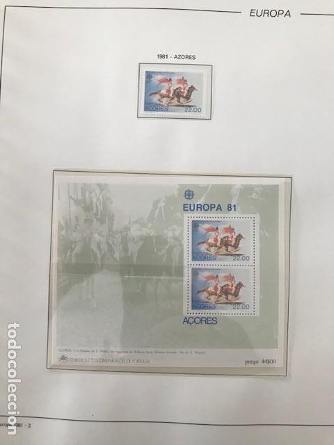Sellos: Europa CEPT año 1981 montado en hojas Filabo Ver imagenes - Foto 4 - 197559921
