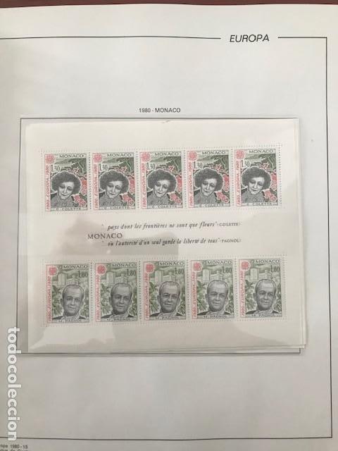 Sellos: Europa CEPT año 1980 en bloque de 4 montado en hojas Filabo Ver imagenes - Foto 4 - 197560348