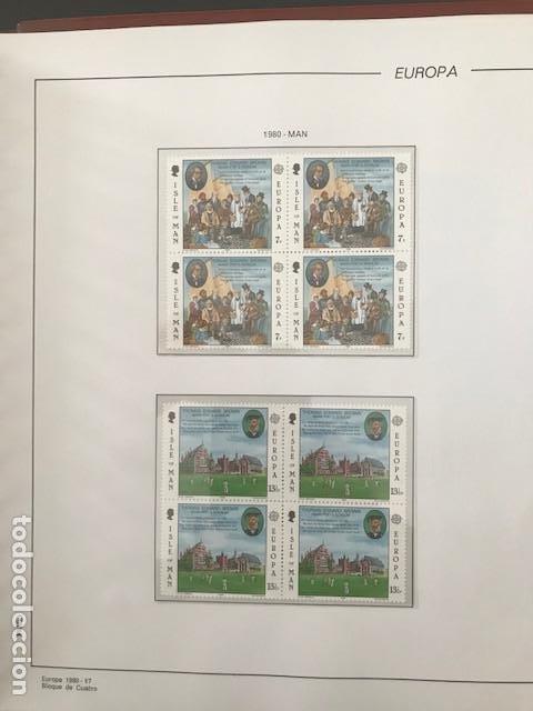 Sellos: Europa CEPT año 1980 en bloque de 4 montado en hojas Filabo Ver imagenes - Foto 6 - 197560348