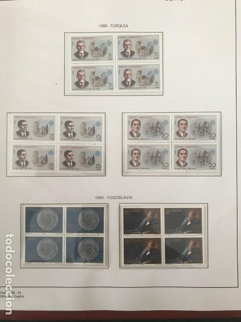Sellos: Europa CEPT año 1980 en bloque de 4 montado en hojas Filabo Ver imagenes - Foto 8 - 197560348