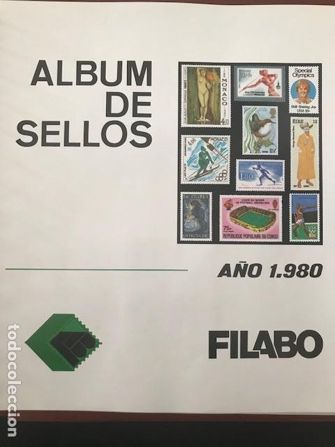 Sellos: Europa CEPT año 1980 en bloque de 4 montado en hojas Filabo Ver imagenes - Foto 20 - 197560348