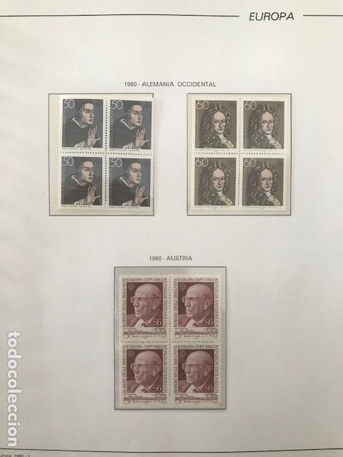 Sellos: Europa CEPT año 1980 en bloque de 4 montado en hojas Filabo Ver imagenes - Foto 9 - 197560348
