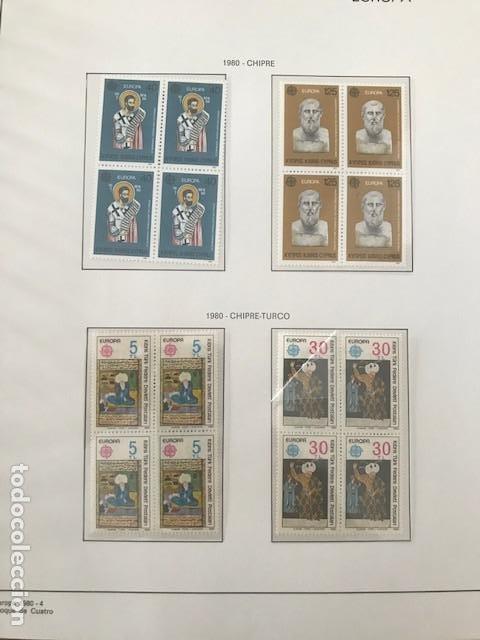 Sellos: Europa CEPT año 1980 en bloque de 4 montado en hojas Filabo Ver imagenes - Foto 12 - 197560348