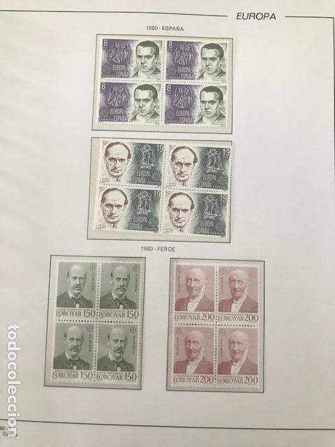 Sellos: Europa CEPT año 1980 en bloque de 4 montado en hojas Filabo Ver imagenes - Foto 13 - 197560348