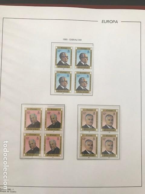 Sellos: Europa CEPT año 1980 en bloque de 4 montado en hojas Filabo Ver imagenes - Foto 15 - 197560348