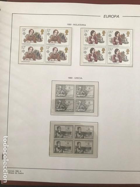 Sellos: Europa CEPT año 1980 en bloque de 4 montado en hojas Filabo Ver imagenes - Foto 16 - 197560348