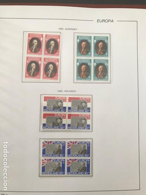 Sellos: Europa CEPT año 1980 en bloque de 4 montado en hojas Filabo Ver imagenes - Foto 17 - 197560348
