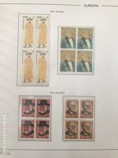 Sellos: Europa CEPT año 1980 en bloque de 4 montado en hojas Filabo Ver imagenes - Foto 18 - 197560348
