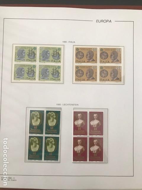 Sellos: Europa CEPT año 1980 en bloque de 4 montado en hojas Filabo Ver imagenes - Foto 19 - 197560348
