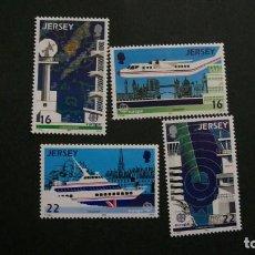Timbres: /20-03/-JERSEY-1988-Y&T 429/32 SERIE COMPLETA EN NUEVO(**MNH). Lote 197727443