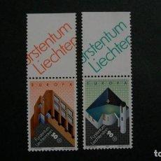 Timbres: /21-03/-LIECHTENSTEIN-1987-Y&T 859/60 EN NUEVO SIN FIJASELLOS(**MNH). Lote 197797808