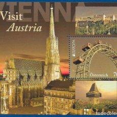 Francobolli: AUSTRIA 2012 EUROPA CEPT HOJITA NUEVO MNH. Lote 198724923