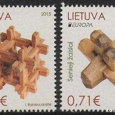 Sellos: LITUANIA 2015 EUROPA CEPT NUEVO MNH. Lote 198945885