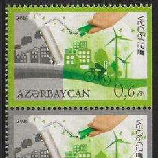 Sellos: AZERBAIYÁN 2016 EUROPA CEPT SET DEL CARNET NUEVO MNH. Lote 198947585