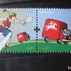 Sellos: PORTUGAL AÑO 2007 TEMA EUROPA NUEVOS SIN CHARNELAS. Lote 199848957