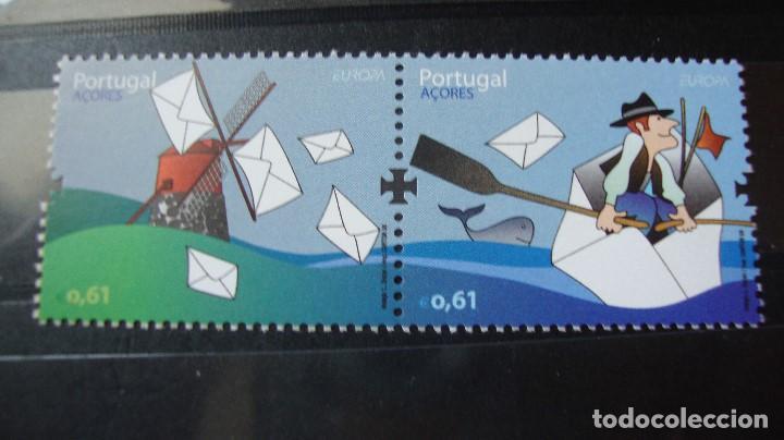 PORTUGAL (AZORES) AÑO 2008 NUEVOS SN CHARNELAS (Sellos - Temáticas - Europa Cept)