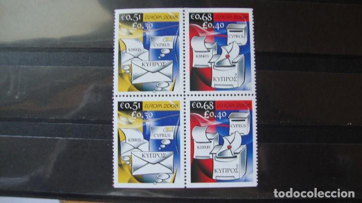 CHIPREE AÑO 2008 TEMA EUROPA NUEVOS SIN CHARNELAS (Sellos - Temáticas - Europa Cept)