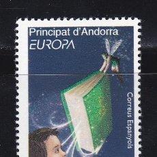 Sellos: EUROPA011 ANDORRA ESP 2010 NUEVO ** MNH FACIAL. Lote 201932268