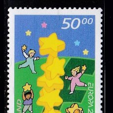 Timbres: EUROPA056 ISLANDIA 2000 NUEVO ** MNH FACIAL. Lote 201986986