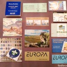 Sellos: LOTE 12 CARNETS NUEVOS TEMA EUROPA. Lote 202809312