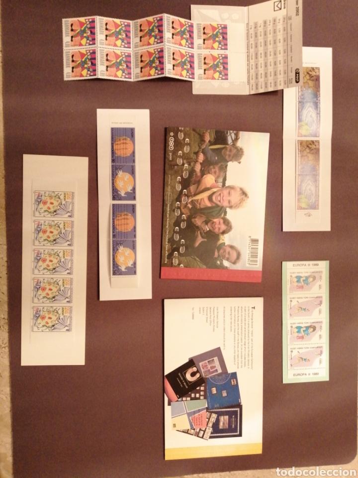 Sellos: Lote de 7 carnets del Tema Europa NUEVOS - Foto 2 - 202815033