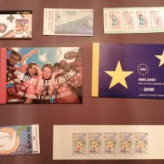 Sellos: LOTE DE 7 CARNETS DEL TEMA EUROPA NUEVOS. Lote 202815033