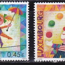 Timbres: EUROPA178 LUXEMBURGO 2002 NUEVO ** MNH FACIAL. Lote 202907493