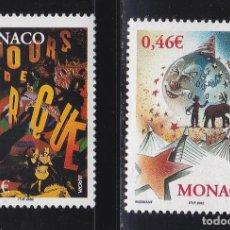 Timbres: EUROPA184 MONACO 2002 NUEVO ** MNH FACIAL. Lote 202911557