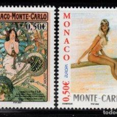 Timbres: MONACO 2393/94** - AÑO 2003 - EUROPA - EL ARTE DEL CARTEL. Lote 238340130