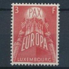 Sellos: SELLOS LUXEMBURGO 1957 Y&T 531/33** EUROPA CEPT. Lote 204279036
