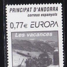 Sellos: EUROPA236 ANDORRA ADMIN. ESPAÑOLA 2004 NUEVO ** MNH FACIAL. Lote 205512363