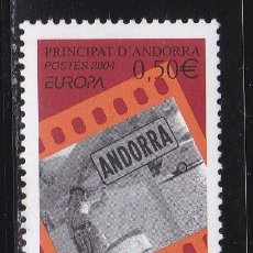 Sellos: EUROPA237 ANDORRA ADMIN. FRANCESA 2004 NUEVO ** MNH FACIAL. Lote 205512593
