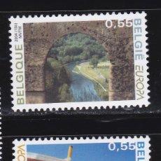 Sellos: EUROPA240 BELGICA 2004 NUEVO ** MNH FACIAL. Lote 205520137