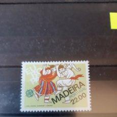 Sellos: PORTUGAL SERIE EUROPEA Y MADEIRA EUROPEA. Lote 206200148