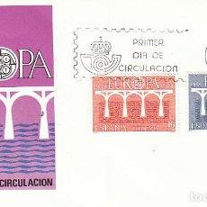Sellos: EDIFIL 2756/7, EUROPA 1984, PRIMER DIA DE 5-5-1984 SOBRE DEL SFC. Lote 206364470