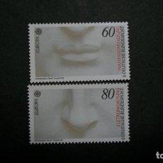 Sellos: /30.05/-ALEMANIA FEDERAL-1986-Y&T 1110/1 SERIE COMPLETA EN NUEVO SIN FIJASELLOS(**MNH). Lote 206481577