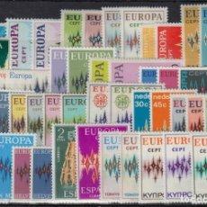 Selos: SELLOS EUROPA CEPT AÑO 1972 46 VALORES ,NUEVOS MNH, CON EDIFIL 72 EUROPA ANDORRA ESPAÑOLA CAT 215€. Lote 208845115