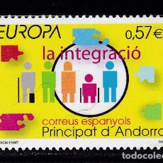 Timbres: EUROPA307 ANDORRA ESPAÑOLA 2006 NUEVO ** MNH FACIAL. Lote 209049498