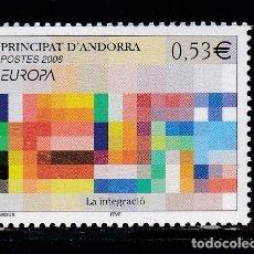 Timbres: EUROPA308 ANDORRA FRANCESA 2006 NUEVO ** MNH FACIAL. Lote 209049578