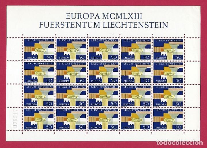 LIECHTENSTEIN.EUROPA 1963. 20 SELLOS. (Sellos - Temáticas - Europa Cept)