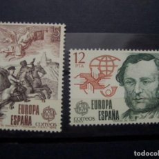 Sellos: EUROPA CEPT ESPAÑA 1979 -PAREJA DE SELLOS USADOS. Lote 212380070