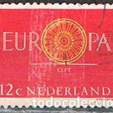 Sellos: HOLANDA IVERT Nº 726, EUROPA 1960, USADO. Lote 213321923