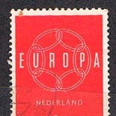 Sellos: HOLANDA IVERT Nº 708, EUROPA 1959, USADO. Lote 213322128