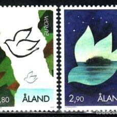 Sellos: TEMA EUROPA 1995 ALAND 2V.. Lote 214460280