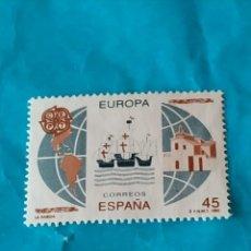 Sellos: ESPAÑA EUROPA 6. Lote 215695000
