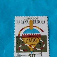 Sellos: ESPAÑA EUROPA 19. Lote 215696292