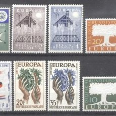 Sellos: LOT 1957 EUROPA CEPT 12 VALUES MNH AC.708. Lote 218149545